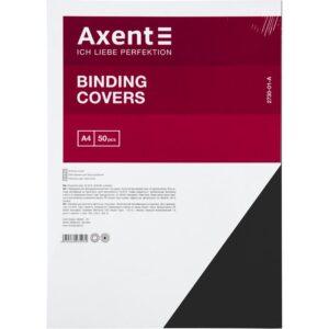 """Обкладинка картонна """"під шкіру"""" (50шт.) Axent 2730A"""