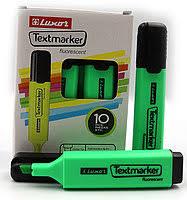 Текстмаркер Luxor  4012 зелений