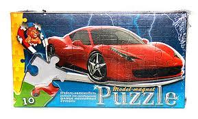 Пазли Danko Toys магнітні 10