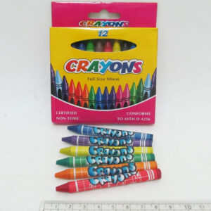 Воскові олівці Crayons 12кол 4236 26-12 8496, 2816