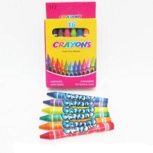 Воскові олівці Crayons 16кол 4236 26-16 8496