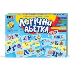 Пазли Danko Toys Абетка логічна DT66DT66Asp-U