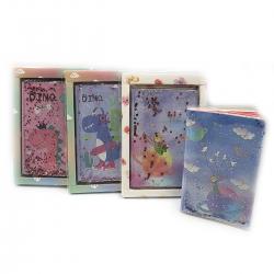 Блокнот А5 9447,9448 Sweet Fairytale з підсвіткою в лінію