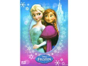 Блокнот А6 JO 2417 Frozen 16*13см в коробці на замок
