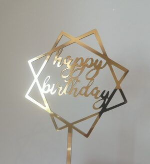 Топер на торт Happy birthday 90800
