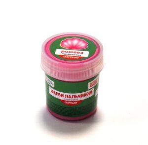 Фарба пальчикова перл. рожева, 40 мл, C&J 513034/Сr