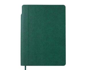 Блокнот А5 295111-04  клітинка  зелений