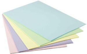 Папір кольоровий  ПАСТЕЛЬ, 4025B  100арк