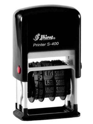 Міні-датер пластиковий ,український 4мм S-400