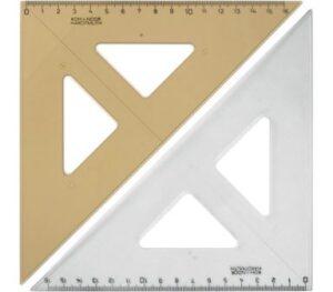Трикутник Кохінор 45/177 прозорий 744150
