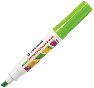 Текстмаркер Centropen 8052 зелений (10шт/уп)