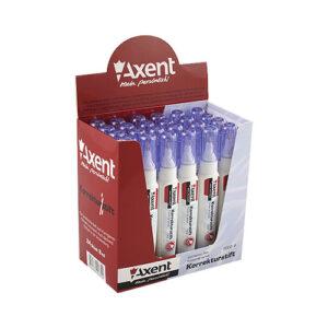Коректор ручка Axent 7002-A металевий наконечн