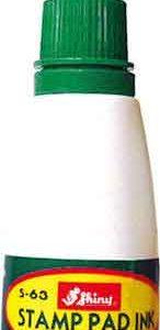 Фарба штемпельна 28мл S-65 шайні зелена